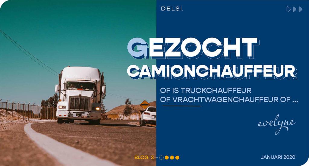 Gezocht camionchauffeur