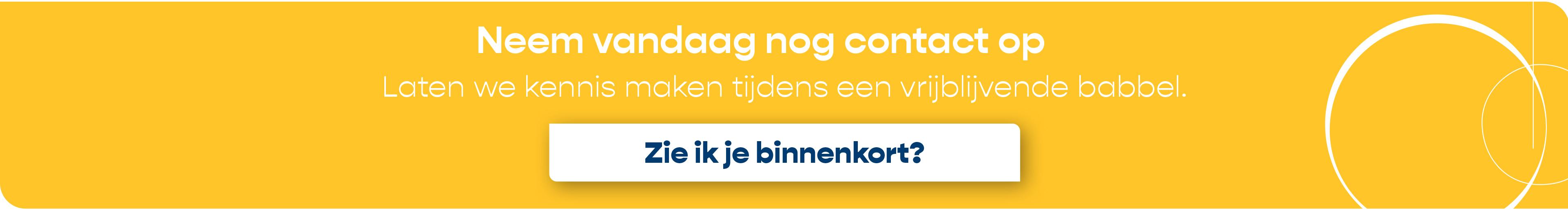 Employer Branding contact mee banner